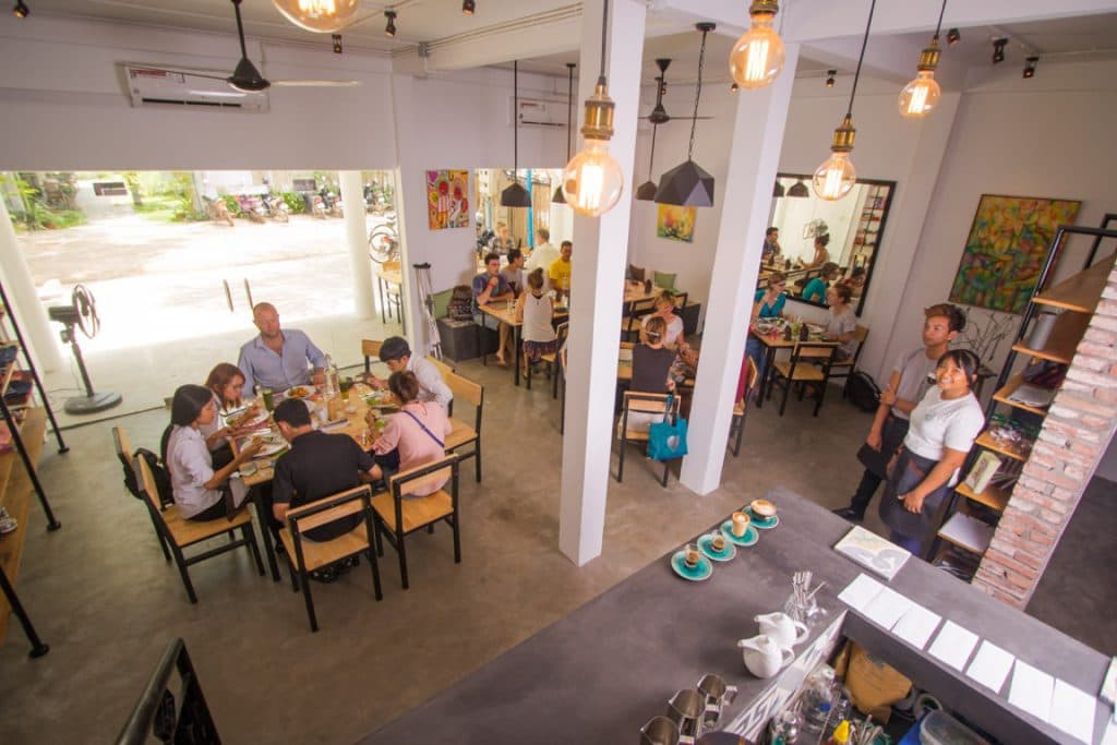 Footprint Cafes, Siem Reap officially opens