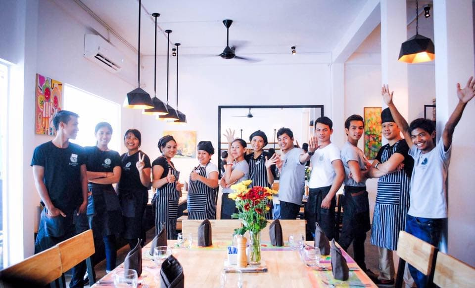Service training begins in Siem Reap