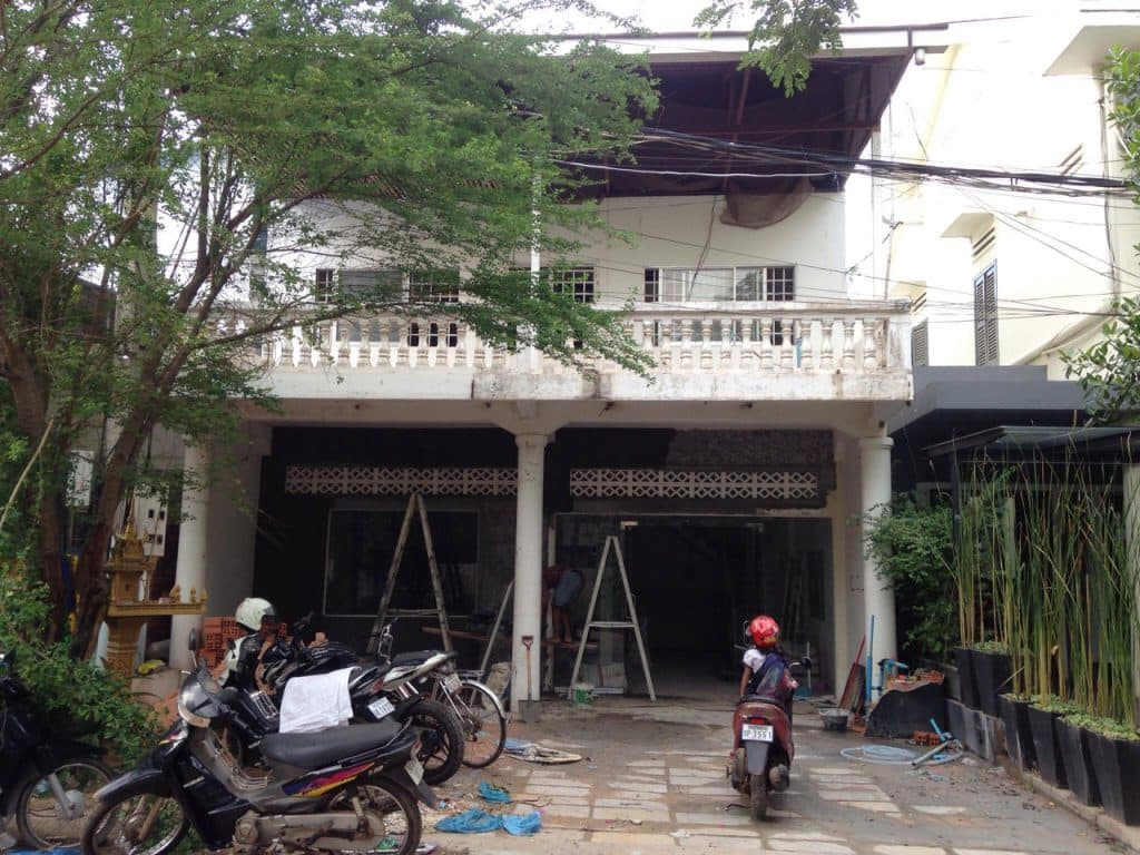 Renovations begin in Siem Reap