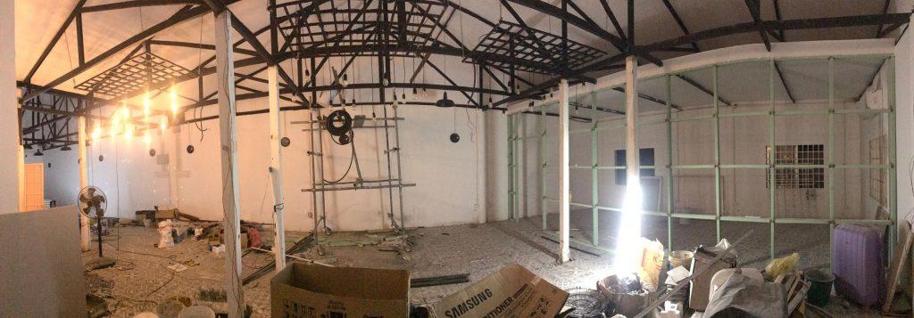 Renovations Begin On Upstairs Enterprise Centre